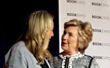 Hillary Rodham Clinton with Cheryl Strayed