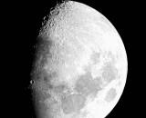 Moon over Long Island