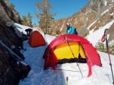 Camp at 9400ft, 2870m