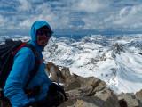 Summit (12,279ft; 3743m)