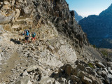 Trail to Paintbrush Divide