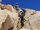 Mt Gayley descent