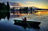 Lake Pyhäjärvi evening Glory