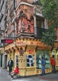Street scene from Madrid