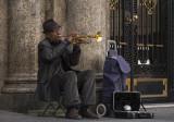 Street musician, Madrid