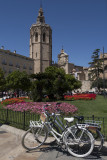 Biking is popular in Valencia