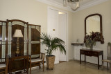 Beautiful interior of Hostal Oliva, Barcelona