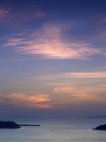 Firostefani sunset