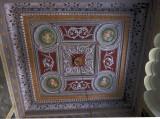 Zannos Melathron lobby ceiling, Pyrgos