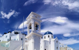Blue sky, Imerovigli