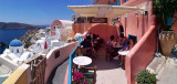 Melevio, my favorite Cafe in Oia