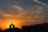 Oia sunset colors