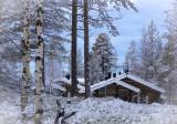 Lake Ylläs morning, Lapland