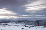 On the edge of the fell, Lapland