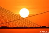 Sunset @ Ting Kau Bridge DSC_5611