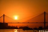 Sunset @ Ting Kau Bridge DSC_5604