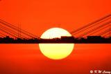 Sunset @ Ting Kau Bridge DSC_5641