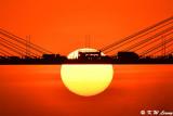 Sunset @ Ting Kau Bridge DSC_5645