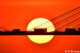 Sunset @ Ting Kau Bridge DSC_5707