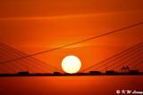 Sunset @ Ting Kau Bridge DSC_5627