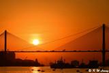 Sunset @ Ting Kau Bridge DSC_5609