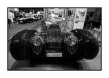 Bugatti Type 57 Cabriolet 1939 Saoutchik & Van Vooren (replica), Paris