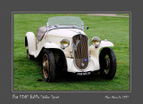 FIAT 508S Balilla Spider Sport Chantilly - France