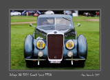 DELAGE D8 120S Coach Sport 1938 Chantilly - France