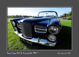 FACEL VEGA FV2 B Convertible 1957 Chantilly - France