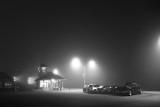 VIA Rail Station In Fog P1190510