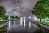 Canal Basin At Night P1200300-4