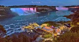 Niagara Falls At Dusk P1200553-8