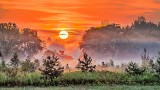 Sunrise Over Ground Fog P1220849-55