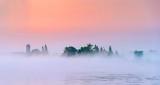 Rideau Canal Sunrise Mist & Fog P1230929-31