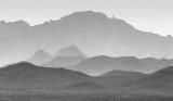 Mountain Layers 74246BW