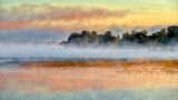 Misty Irish Creek At Sunrise P1260253