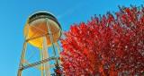 Autumn Watertower DSCN16494-6
