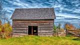 Old Log Barn P1260965-7