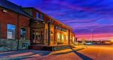 Station Theatre At Sunrise 48939-44