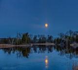 Moonrise, Rideau Canal, Ontario P1280221-7