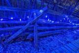 Blue Light Split-rail Fence P1280393-7
