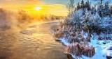 Rideau River Winter Sunrise DSCN18482-4