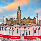 Canada 150 Skating Rink At Sunset P1280914-25