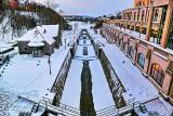 Wintry Ottawa Locks At Twilight P1280973-5