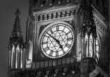 Peace Tower Clock At Twilight P1290008-10 Crop