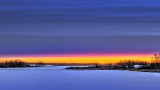 Frozen Rideau Canal Dawn P1290134-40