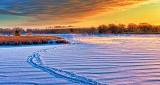 Wintry Otter Creek At Sunrise DSCN18461
