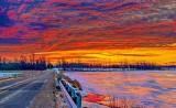Roses Bridge At Sunrise P1290310-4