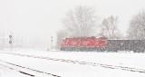 Train In Snowstorm DSCN19093