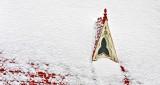 Church Dormer In Snow DSCN19139-41